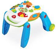 Музыкальный игровой столик Weina 2-в-1, 2137