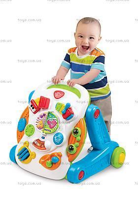 Музыкальный игровой столик Weina 2-в-1, 2137, цена
