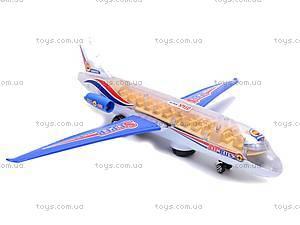 Музыкальный игрушечный самолетик, SY708