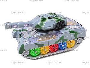 Музыкальный игрушечный танк, 2265-1