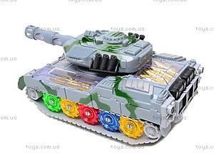 Музыкальный игрушечный танк, 2265-1, купить