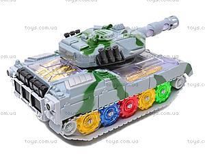 Музыкальный игрушечный танк, 2265-1, отзывы