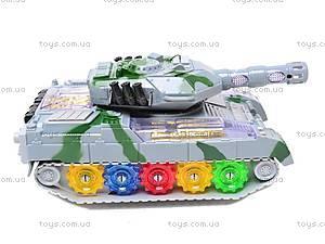 Музыкальный игрушечный танк, 2265-1, цена
