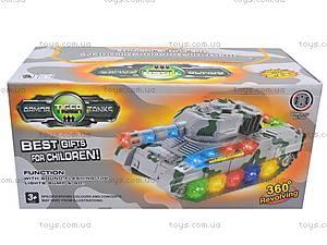 Музыкальный игрушечный танк, 2265-1, игрушки