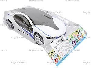 Музыкальный инерционный автомобиль, для детей, 8899-1