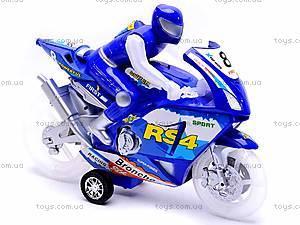 Музыкальный инерционный мотоцикл, HR638-8