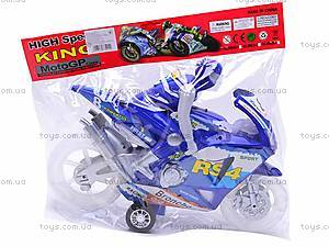 Музыкальный инерционный мотоцикл, HR638-8, игрушки
