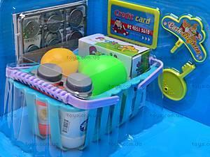 Музыкальный кассовый аппарат, с корзинкой, LF1018A, игрушки