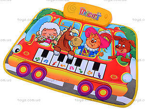 Музыкальный коврик, 3 вида, LX6239AB623