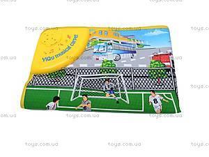 Музыкальный коврик «Футбольное поле», YQ2909