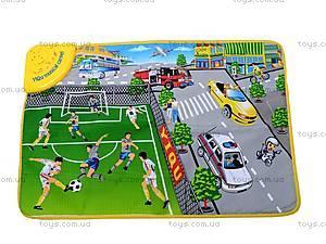 Музыкальный коврик «Футбольное поле», YQ2909, фото