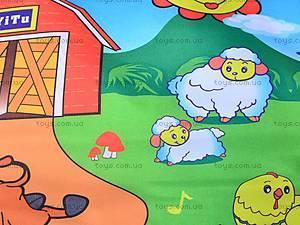 Музыкальный коврик «На полянке», YQ2965, игрушки