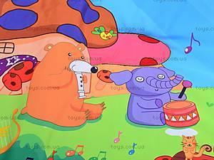 Музыкальный коврик с игрушками, PM90108, отзывы