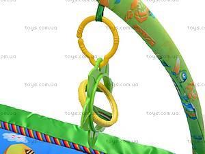 Музыкальный коврик с игрушками, PM90108, цена