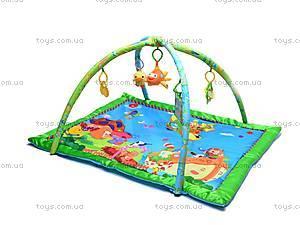 Музыкальный коврик с игрушками, PM90108, игрушки