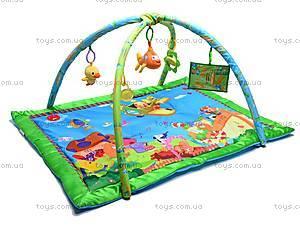 Музыкальный коврик с игрушками, PM90108