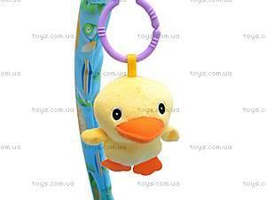 Музыкальный коврик с игрушками, PM90108, магазин игрушек