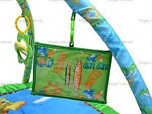 Музыкальный коврик с игрушками, PM90108, toys