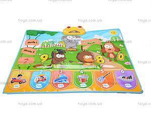 Музыкальный коврик с животными, 711, фото