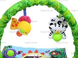 Музыкальный коврик «Тропический лес», 3059, детские игрушки