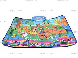 Музыкальный коврик «Веселая ферма», 780-U, фото
