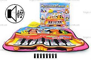 Музыкальный коврик  «Пианино», YQ29