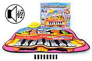 Музыкальный коврик  «Пианино», YQ29, фото