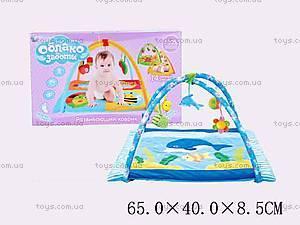 Музыкальный коврик с игрушками для детей, B01107