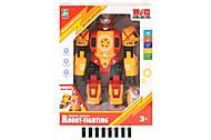 Музыкальный красно-желтый робот, KD-8811A, купить