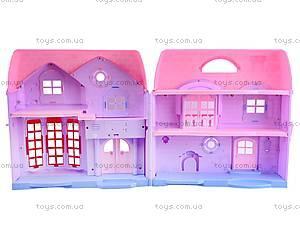 Музыкальный кукольный дом, 8034-1, игрушки