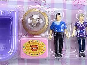 Музыкальный кукольный дом, 8034-1, toys.com.ua