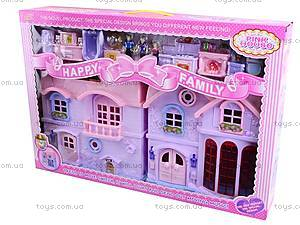 Музыкальный кукольный дом, 8034-1
