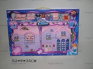 Музыкальный кукольный дом, с мебелью, 8062