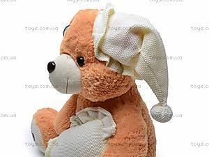 Музыкальный медведь с подушкой, S38-0593/40, купить