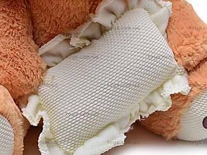 Музыкальный медведь с подушкой, S38-0593/40, цена