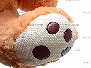 Музыкальный медведь с подушкой, S38-0593/40, игрушки