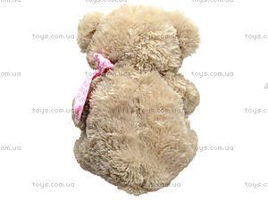 Музыкальный медведь с сердечком, 639670 серый, отзывы