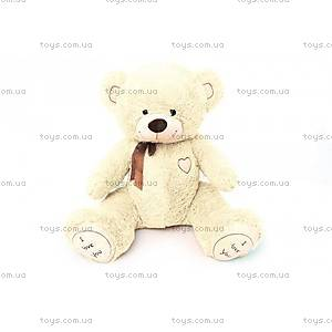 Музыкальный медвежонок, с бантиком, 450590М