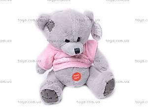 Музыкальный медвежонок «Тедди», в футболке, GC982/8