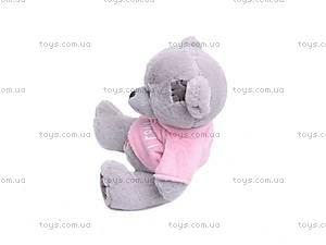Музыкальный медвежонок «Тедди», в футболке, GC982/8, купить