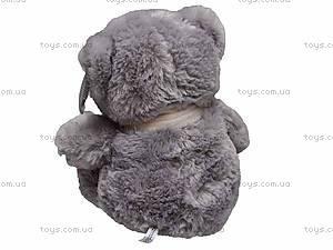 Музыкальный медвежонок, в шарфе, S-WQ11105, купить