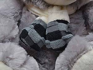 Музыкальный медвежонок, в шарфе, S-WQ11105, цена