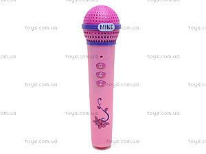 Музыкальный микрофон «Модный стиль», 825, фото