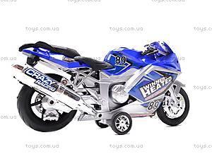 Музыкальный мотоцикл инерционный, 909-10909-12, фото