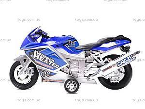 Музыкальный мотоцикл инерционный, 909-10909-12