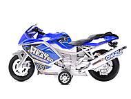 Музыкальный мотоцикл инерционный, 909-10909-12, отзывы