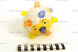 Музыкальный мячик Crazy boll, 9391