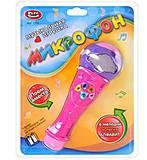 Музыкальный микрофон розовый, 7750, отзывы