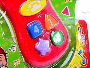 Музыкальный обучающий телефон, 775-3U, купить