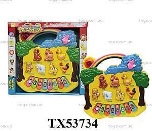 Музыкальный орган с животными, TX53734